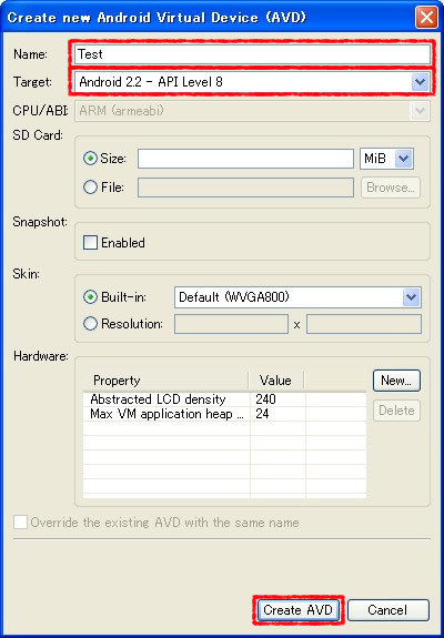 Android SDK Manager